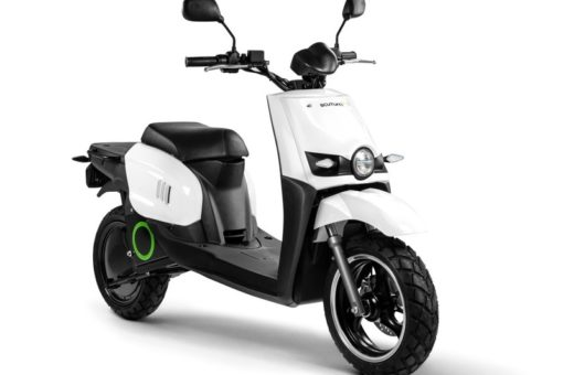 eGen Electric Scooter Front Side View